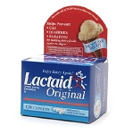 Lactaid Original Strength Caplets - Box of 120